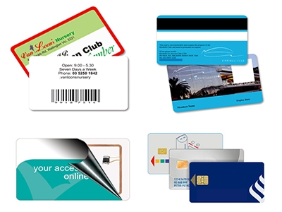 Three important types of Plastic Card